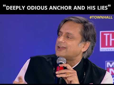 Politics, Sabarimala, Sunanda Pushkar-Shashi Tharoor gets  candid with Barkha Dutt