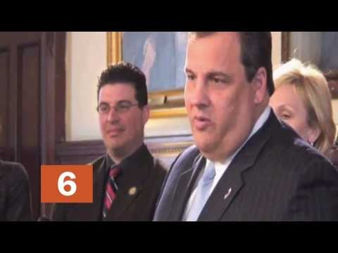 The many moods of Chris Christie