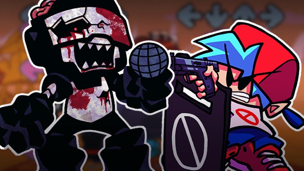 Download [FNF] 좀비 탱크맨 모드 【 Friday Night Funkin' Zombie Tankman UGH Mod 】