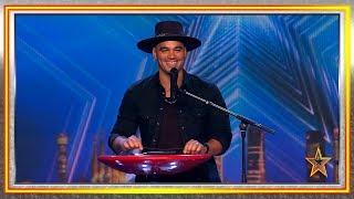Artista venezolano toca la guitarra usando su teléfono móvil | Audiciones 4 | Got Talent España 2019