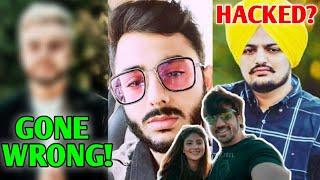 YouTuber Challenge Gone VERY WRONG! 😂 | Sidhu Moosewala HACKED?, CarryMinati, Mumbiker Nikhil, PUBG