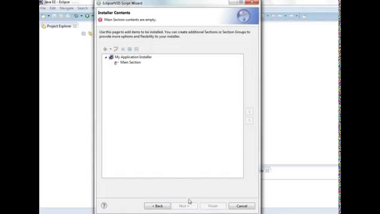 Create windows installer for your application: NSIS Tutorial