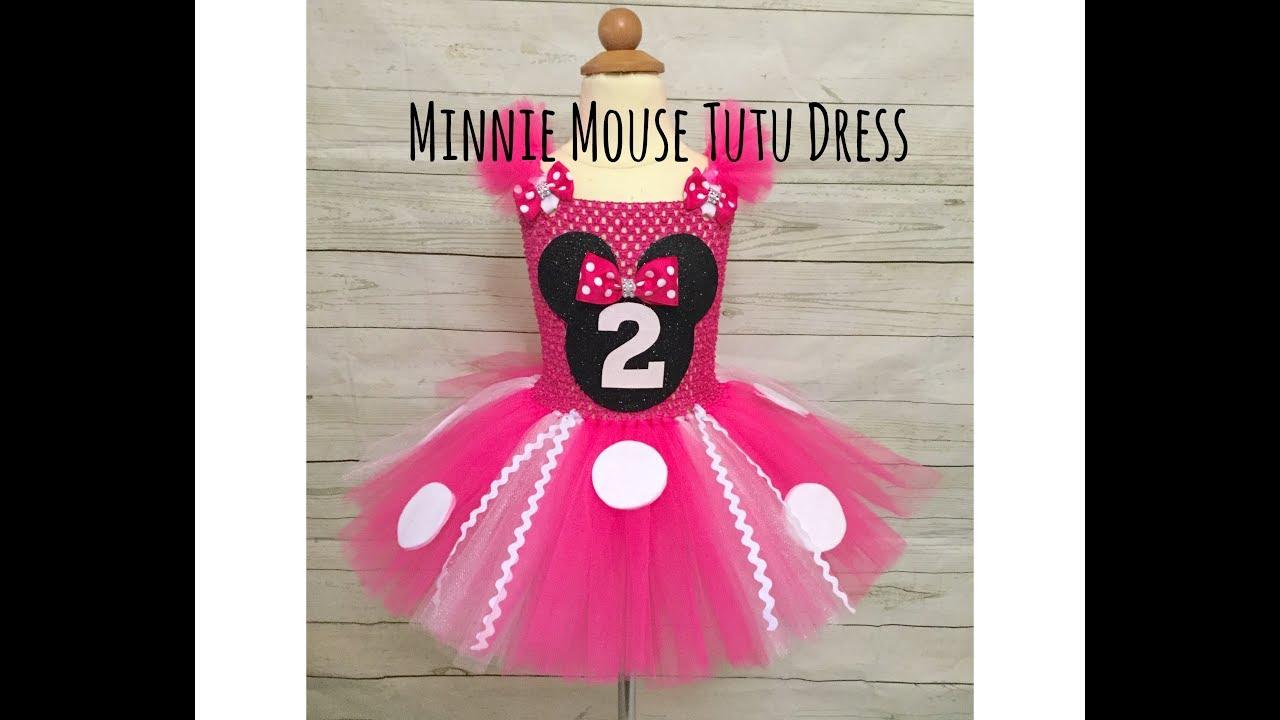 Minnie Mouse Birthday Tutu Dress