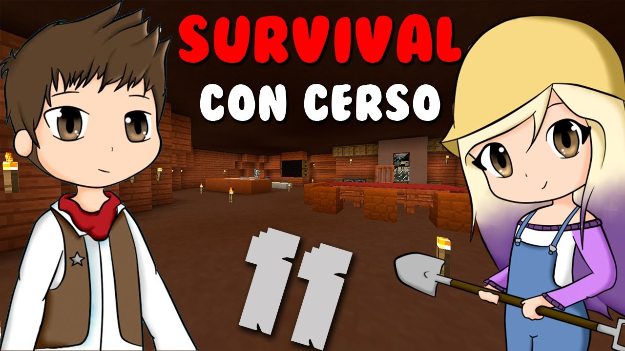 Lyna decora mi casa survival con cerso 11 youtube - Decora mi casa ...