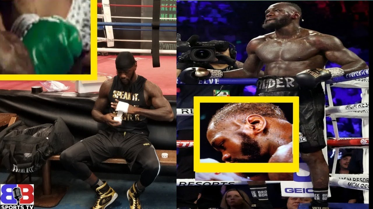 Download DEONTAY WILDER ILLEGALLY SWITCHED HIS GLOVES, NEW FOCUS TO DISTRACT & PROTECT FURY CHEATING