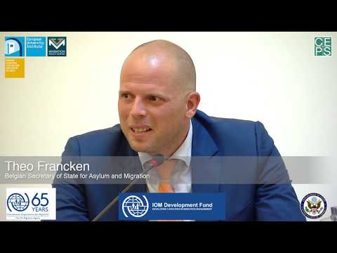 Thinking beyond the crisis: Future governance of migration in Europe | Theo Francken