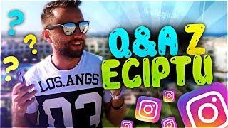 odpowiadam na Wasze pytania z INSTAGRAMA  w Egipcie #2 Q&A