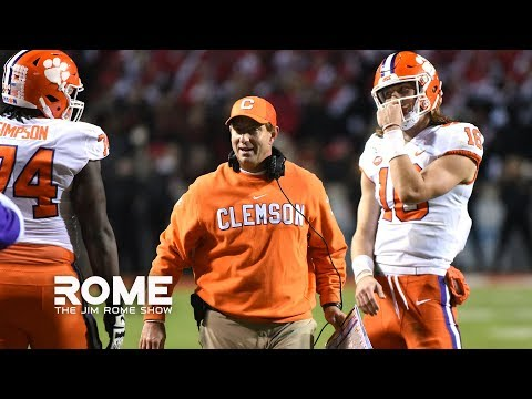 dabo-swinney-says-clemson-is-being-overlooked- -the-jim-rome-show