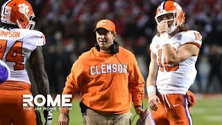 Dabo Swinney Says Clemson Is Being Overlooked | The Jim Rome Show