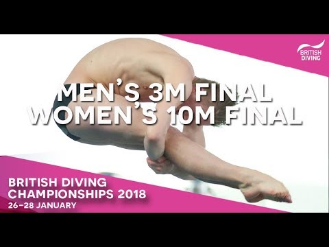 British Diving Championships 2018 - Session Five