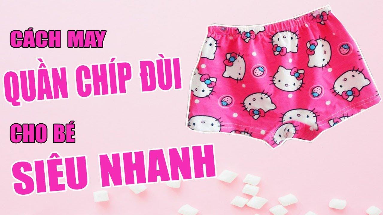 How to make a underwear for kid |TỰ MAY QUẦN CHIP ĐÙI CHO BÉ CỰC DỄ | Ặt Củ Tỏi DIY