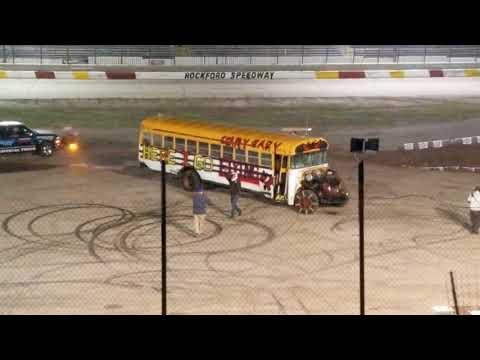 Scary Gary School Bus Jump