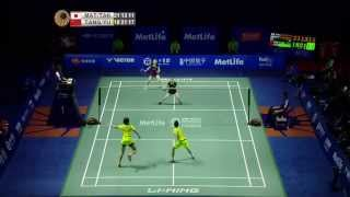 Thaihot China Open 2015 | Badminton F M1-WD | Mat/Tak vs Tang/Yu