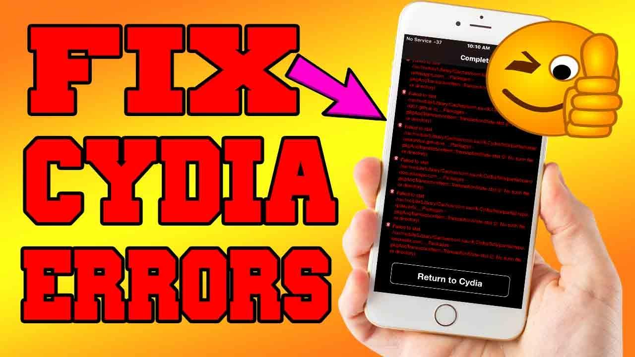 How to Fix Cydia Errors Yalu Jailbreak 10 2 | iPhonecaptain