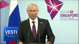 Putin Wraps Up in Singapore: But Last Minute Chat With John Bolton Has Everyone Speculating...