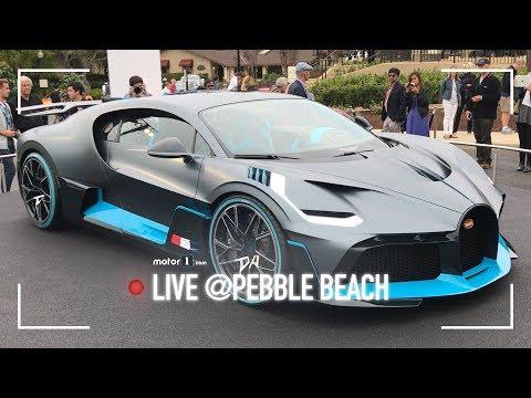 Bugatti Divo | 1.500 CV che tolgono il fiato | Pebble Beach 2018