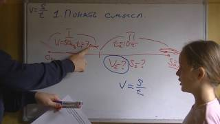 Решаем задачу на Скорость Время Расстояние 4 класс