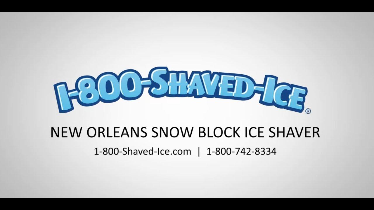 Hope, snow wizzard shaved ice machine