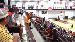 Tulsa Shock Visits Sequoyah Schools.mp4