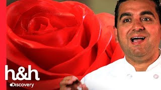 A rosa gigante | Cake Boss | Discovery H&H Brasil