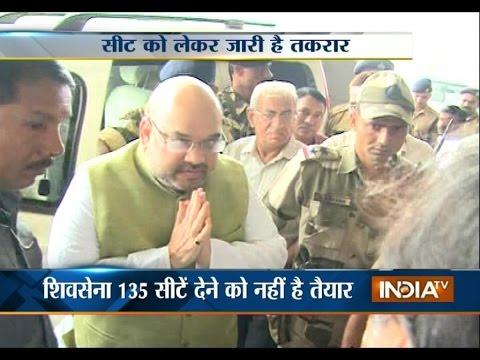 Amit Shah To Meet With Uddhav Thackeray In Mumbai Today - India TV