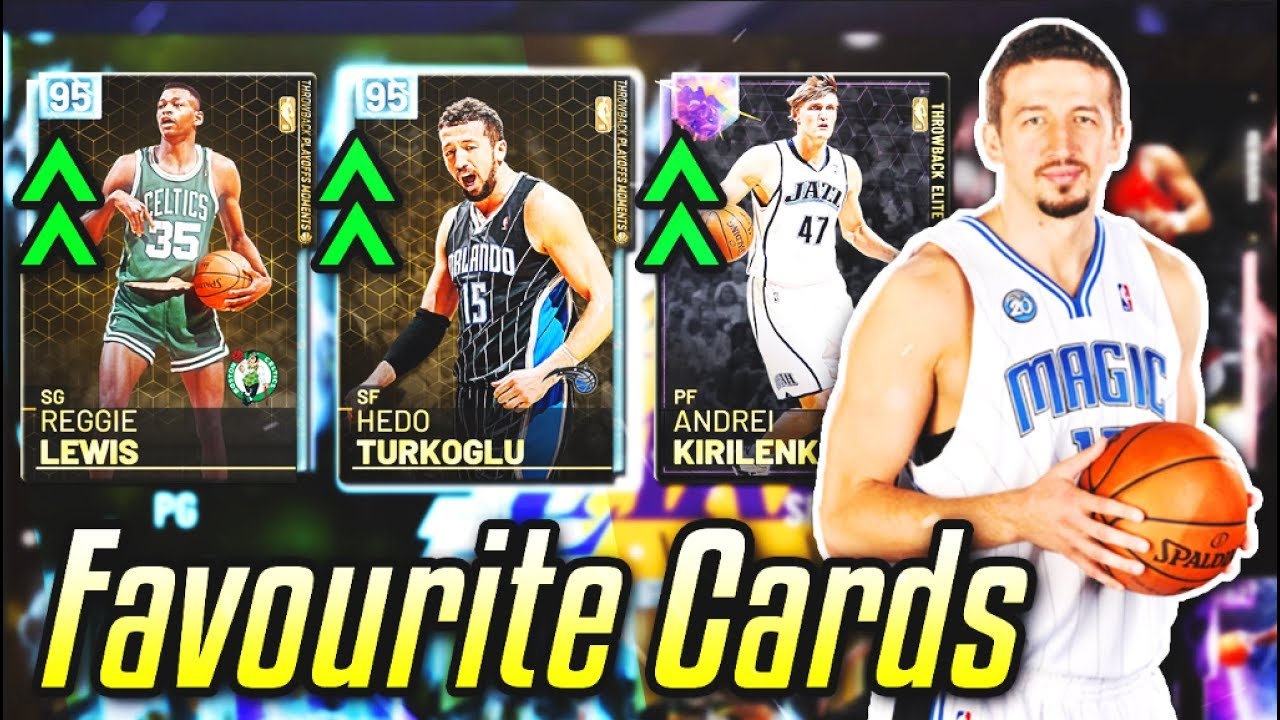 i used the ALL OF MY FAVOURITE PLAYERS in nba 2k19 myteam