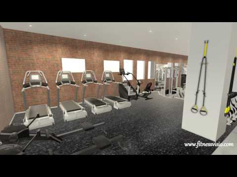 Fitness Visio Evolve Fitness Dallas TX Gym Design Layout Equipment