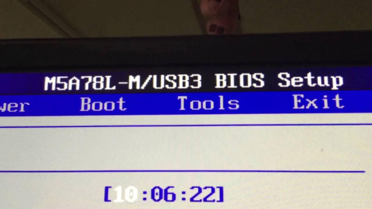 How To Configure Usb M Storage Device Emulation In M5a78l Usb3 Bios Setup Version 2101
