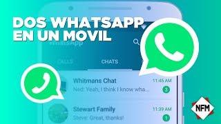como tener dos whatsapp en un mismo celular SIN ROOT  duplica cualquier aplicaciones   2018