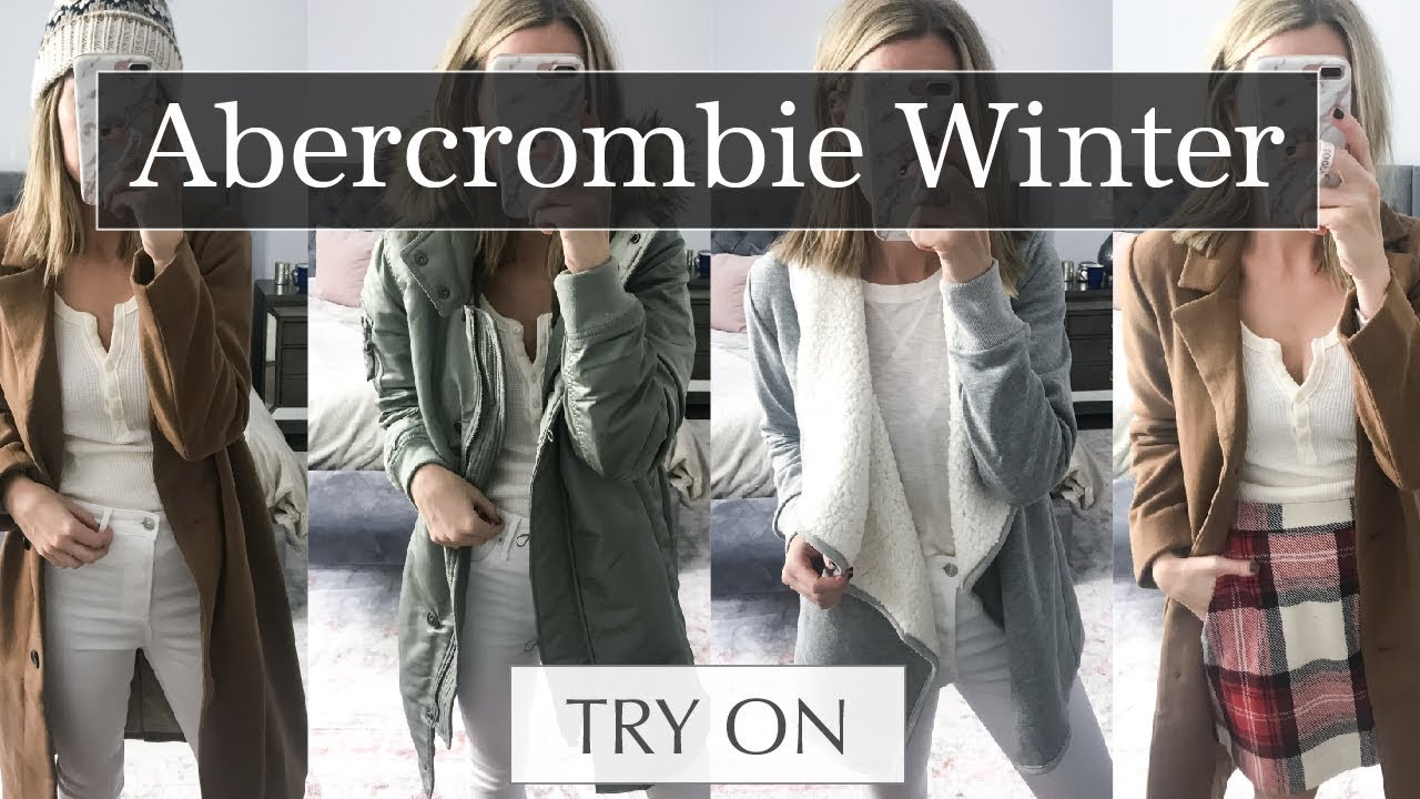 0ba9ea71 Abercrombie & Fitch Outerwear & Winter Outfits Try On Haul | Life By Lee  Abercrombie & Fitch Outerwear & Winter Outfits Try On Haul