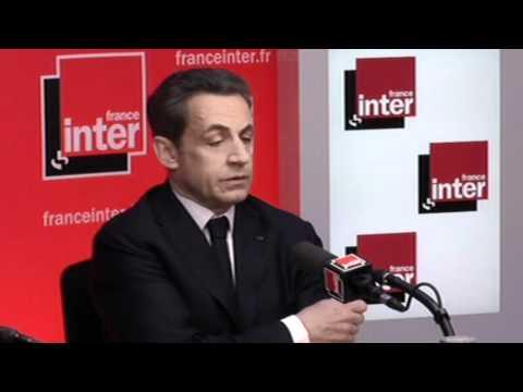 Nicolas Sarkozy Répond à Pascale Clark - Présidentielle 2012