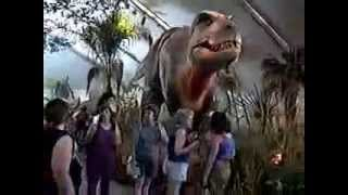Dinosaurs alive - The Memphis Zoo in 1992