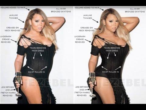 Filtran fotos de Mariah Carey ¡sin Photoshop! thumbnail