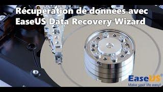 Récupération de données avec EaseUS Data Recovery Wizard