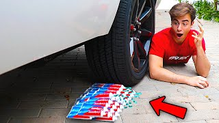 Crushing The Most Satisfying Things by Car! (CAR VS TOOTHPASTE)