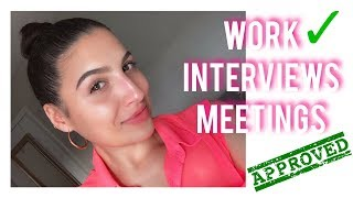 Makeup for Work & Interview - SIMPLE + EASY + QUICK