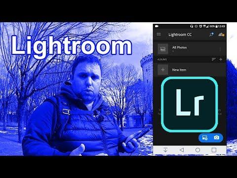 Lightroom app Tutorial part 1 - Lightroom and Snapseed