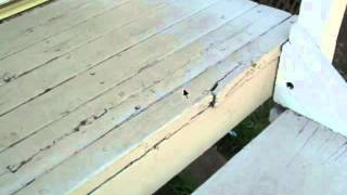 Small Section Of Wood Porch Damage Can Lead To Accidents