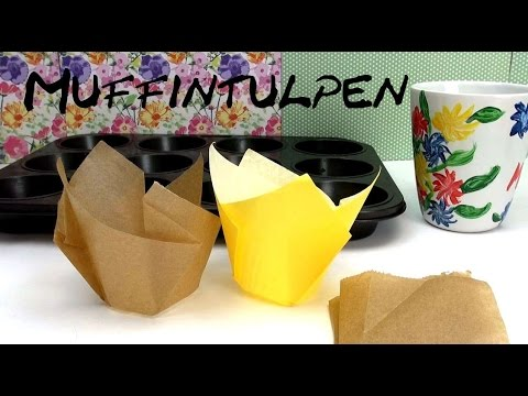 diy muffin formen f rmchen muffintulpen ganz einfach selber machen anleitung deutsch youtube