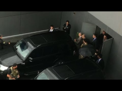 Detained ex-president Temer transferred out of Sao Paulo airport