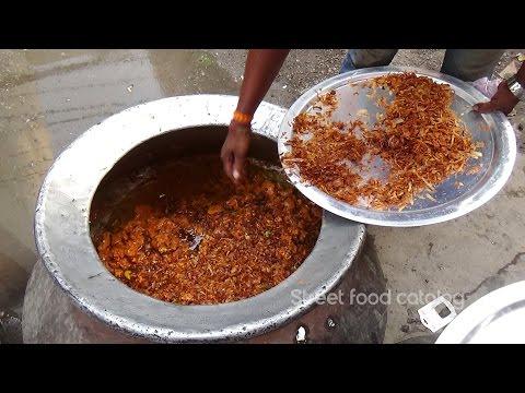 Muslim Chicken Dum Biryani Prepared for 500 People | King of Chicken Biriyani | Street Food Catalog