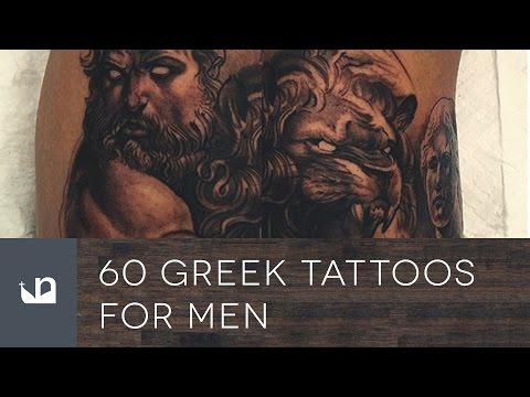 60 Greek Tattoos For Men
