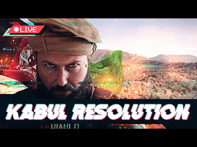 OPERACIÓN KABUL RESOLUTION - Frente de Resistencia Nacional de Afganistán FRN - Squad ALPHA (4/5⭐)