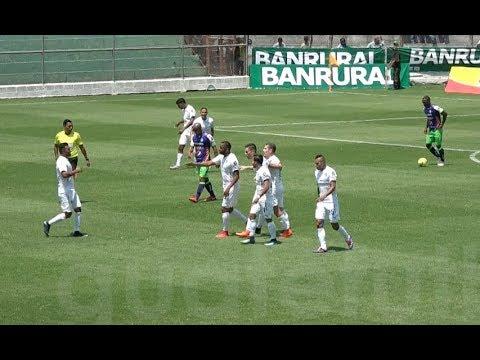 Antigua GFC 1-2 Comunicaciones - Jornada 12 - Clausura 2018