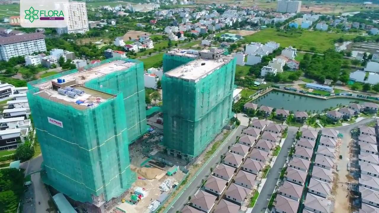 Toàn cảnh căn hộ Flora Fuji Nam Long flora.com.vn