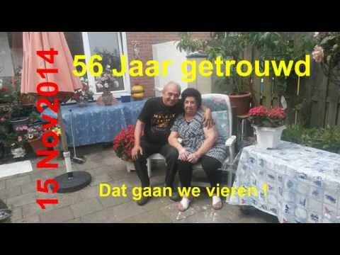 56 jaar getrouwd Gerda en Fred zijn op 15 november 2014 56 jaar getrouwd.   YouTube 56 jaar getrouwd