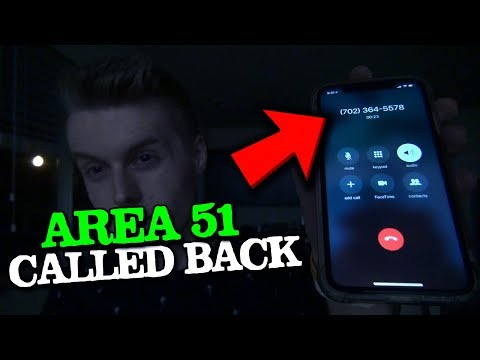 Area 51 Actually Got Back To Me..