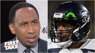 Stephen A.: Michael Robinson's comments don't make Russell Wilson look good | First Take