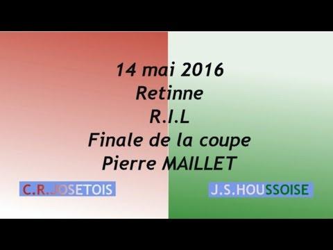 Résumé Finale de la Coupe RIL C R Josétois J S Houssoise