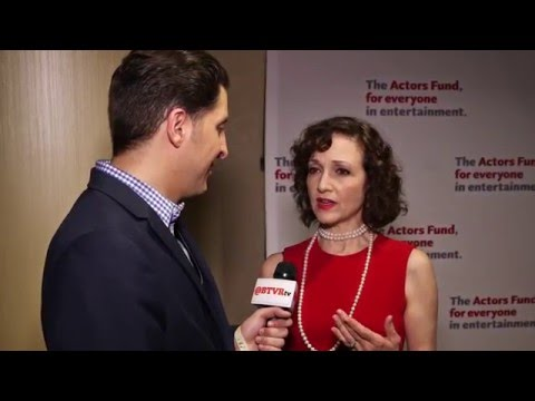 Bebe Neuwirth at the Actors Fund Gala Behind The Velvet Rope with Arthur Kade
